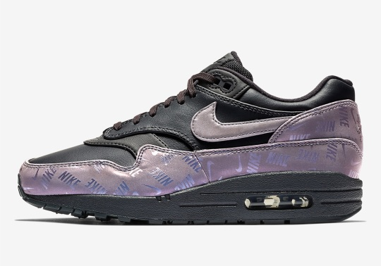 More Logo Heavy Designs Appear On The Nike Air Max 1