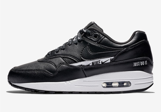 The Logo Remix Continues With The Nike Air Max 1 SE