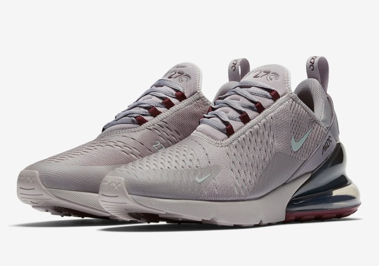 The Air Max 270 Adds Burgundy Crush For Fall