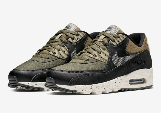 Nike Gets Premium With The Air Max 90 In Olive And Black