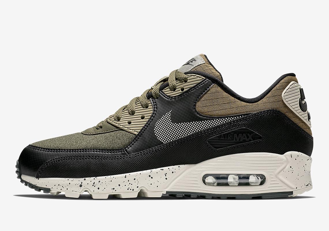 27761fd1b419 Nike Air Max 90 Olive Black 700155-203 Release Info   SneakerNews.com