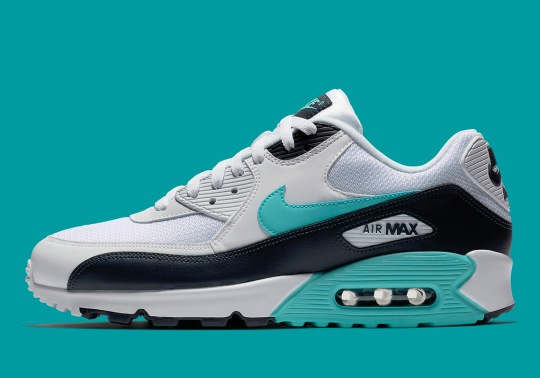 The Nike Air Max 90 Adds Obsidian And Aurora