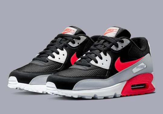 "Nike Remixes The Original ""Infrared"" With The Air Max 90"