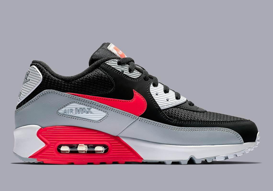 Nike Air Max 90 Essential 'Infrared Remix' AJ1285 012  AJ1285 012