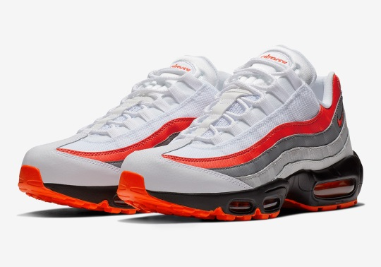 "The Nike Air Max 95 Essential Is Dropping Soon In A ""Comet"" Inspired Colorway"