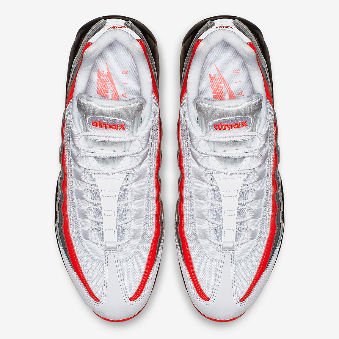 d4220811f0418 Nike Air Max 95 $160. Color: White/Bright Crimson-Black-Pure Platinum Style  Code: 749766-112. Where to Buy. Eastbay Available. Advertisement.  Advertisement