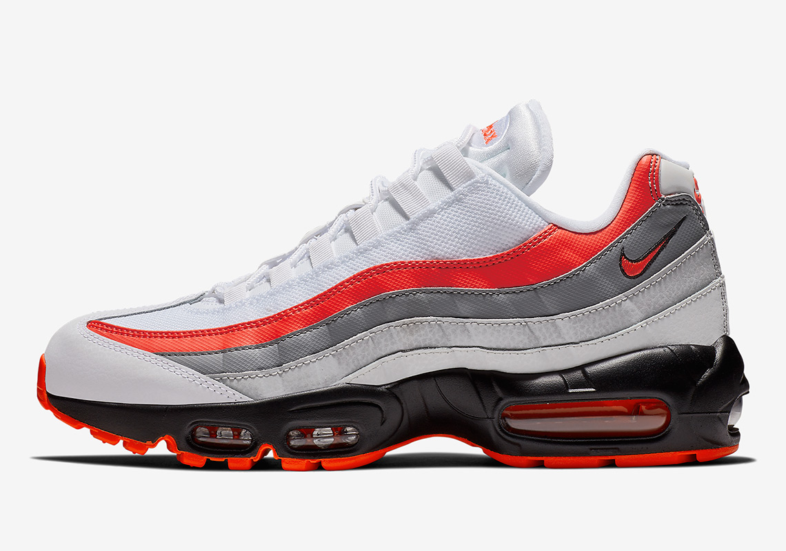 263fa5d350c6d Nike Air Max 95 $160. Color: White/Bright Crimson-Black-Pure Platinum Style  Code: 749766-112. Where to Buy. Eastbay Available