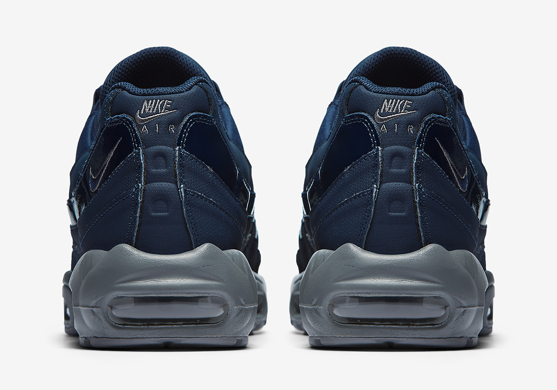 da47c19969 Nike Air Max 95AVAILABLE AT Nike UK£130Color: Obsidian/Cool Grey/ObsidianStyle  Code: AT0042-400