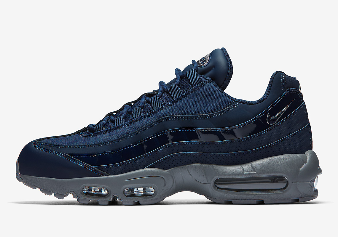 best website 4bbf5 3730d The Nike Air Max 95 Is Available In Obsidian And Cool Grey