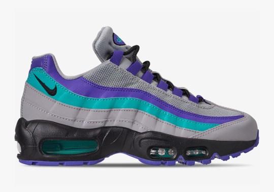"The Nike Air Max 95 OG Returns In An ""Aqua"" Blend Of Colors"