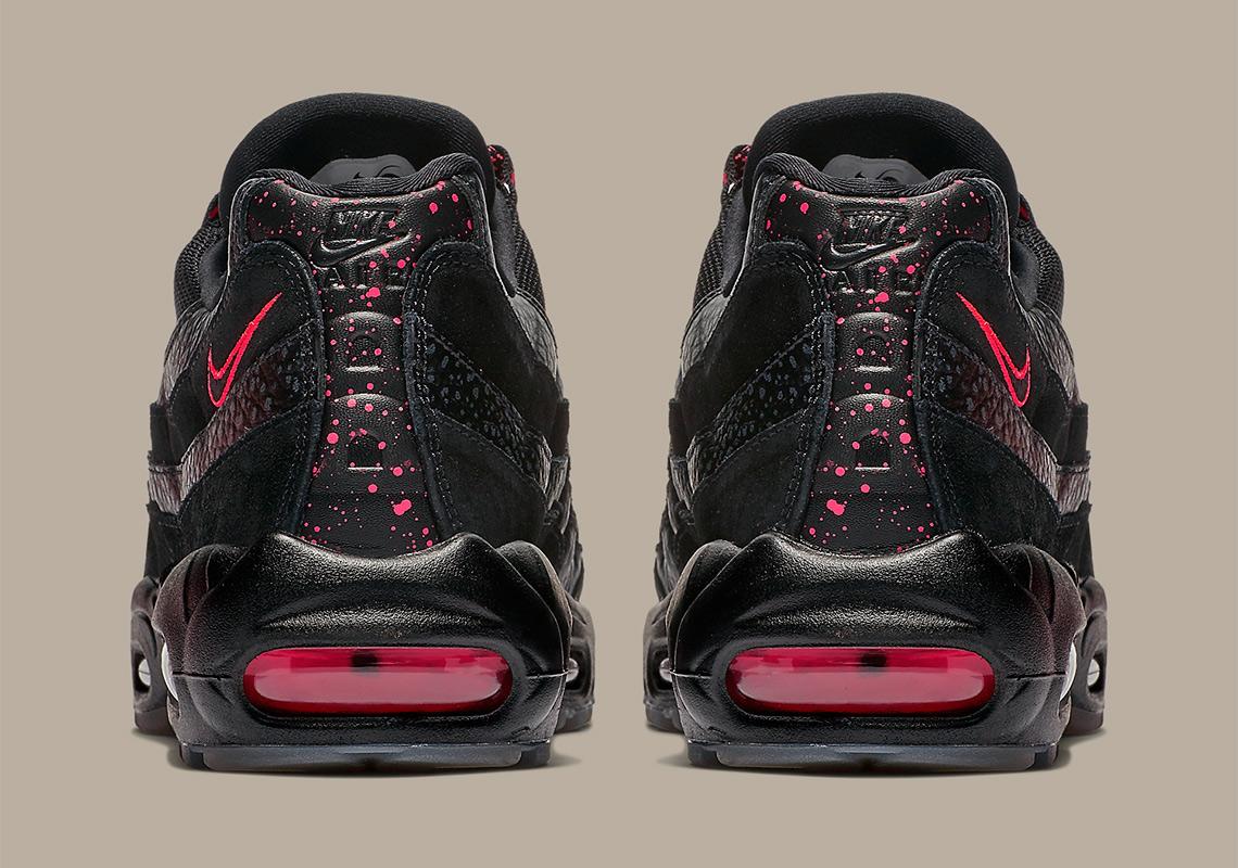 54d7fb929989df Nike Air Max 95 Black Infrared AV7014-001