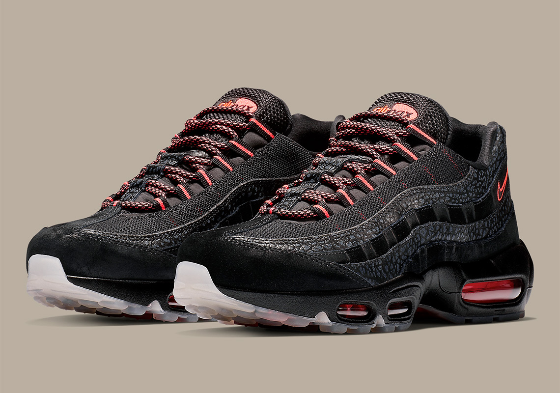 huge selection of 63fba e43c6 Nike Air Max 95 Black Infrared AV7014-001 | SneakerNews.com