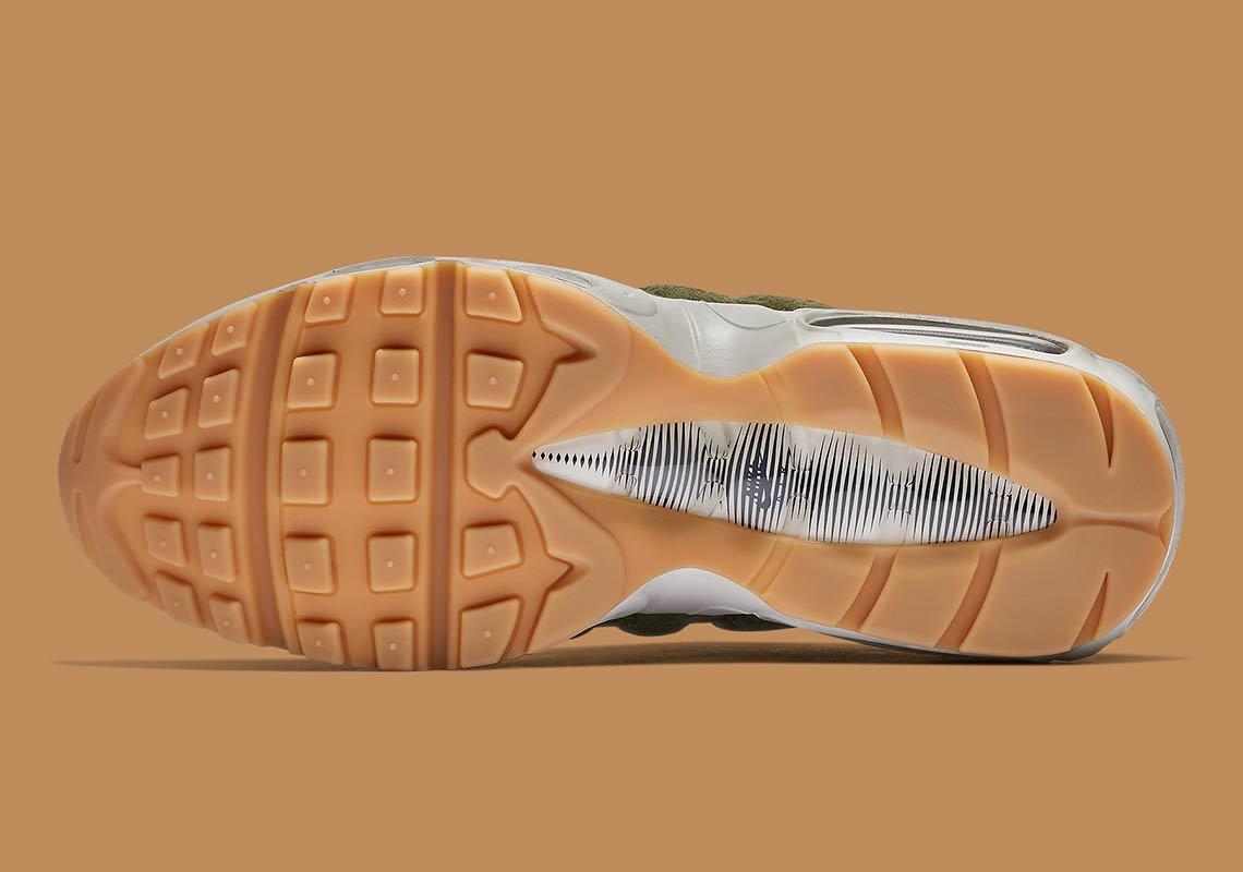 nike air max 95 olive aj2018 300 3 - Nike Air Max 95 Olive Canvas AJ2018-300 Release Info