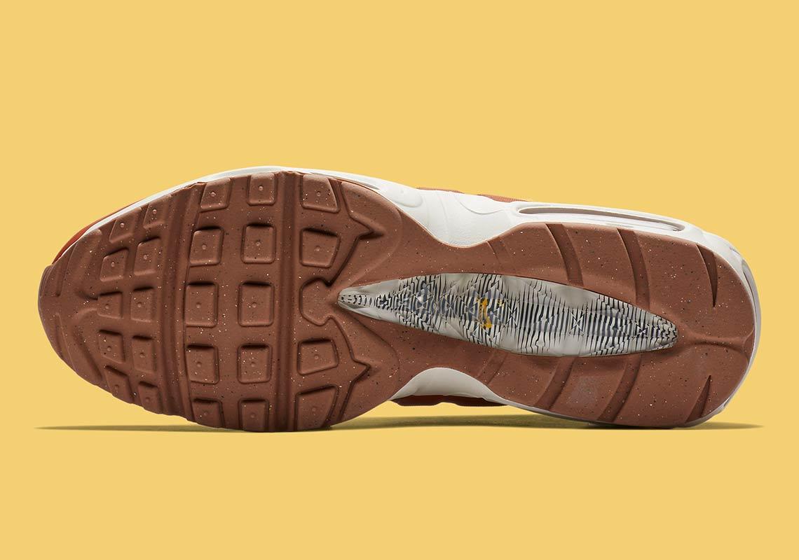 "The Nike Air Max 95 Sneakerboot ""Dark Russet"" Viral Cypher"