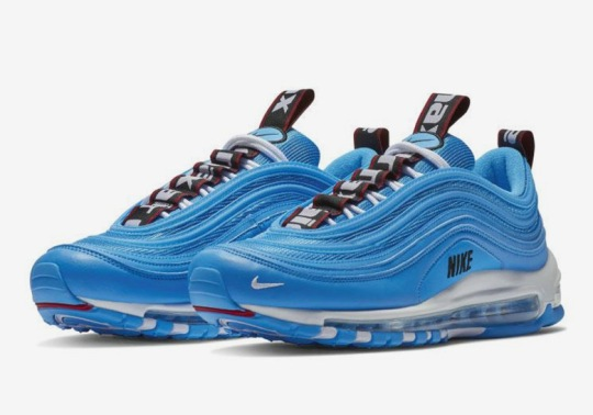 "The Nike Air Max 97 ""Blue Hero"" Adds More Bold Logo Detailing"