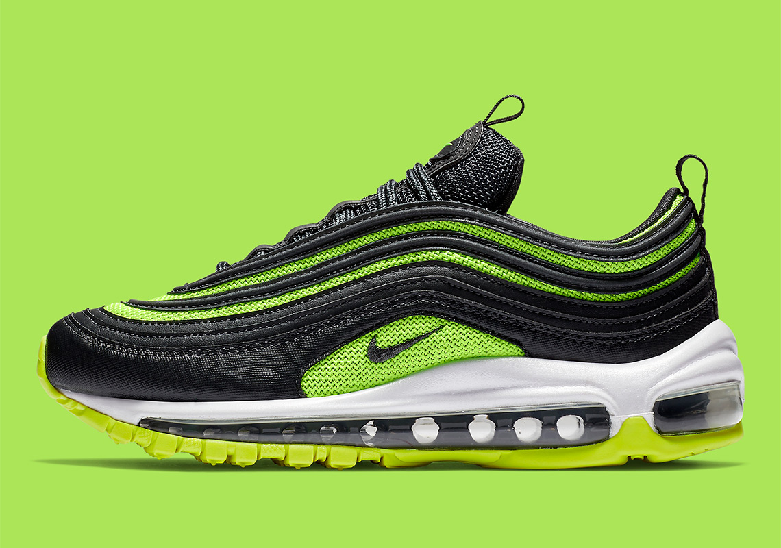 Women's Black Air Max 97 Plus