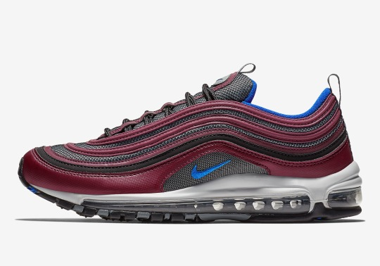 The Nike Air Max 97 Is Coming Soon In Maroon And Navy