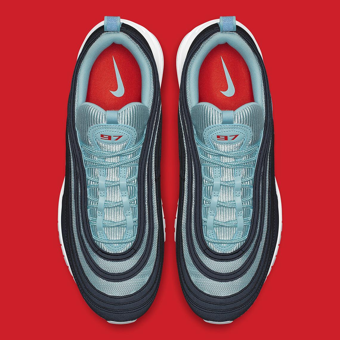 70e9d39bcb Nike Air Max 97 $160. Color: Dark Obsidian/Ocean Bliss-University Red Style  Code: AV7025-400. Advertisement. Advertisement