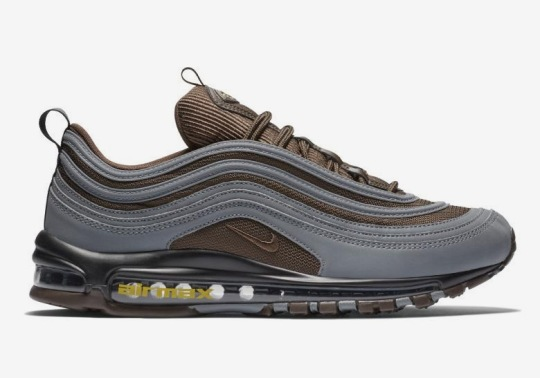 The Nike Air Max 97 Pairs Cool Grey And Baroque Brown For Upcoming Release