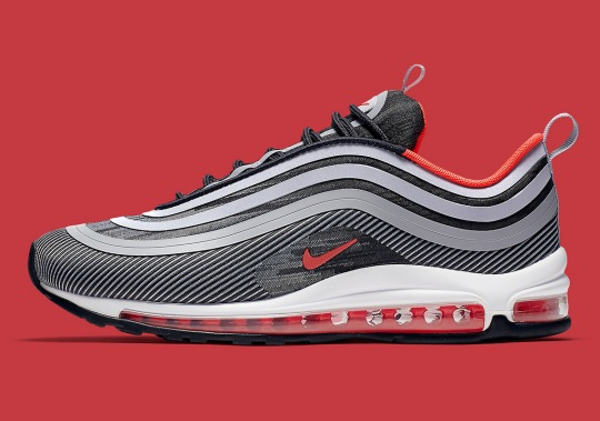 "The Nike Air Max 97 Ultra '17 ""Red Orbit"" Is Dropping Soon"