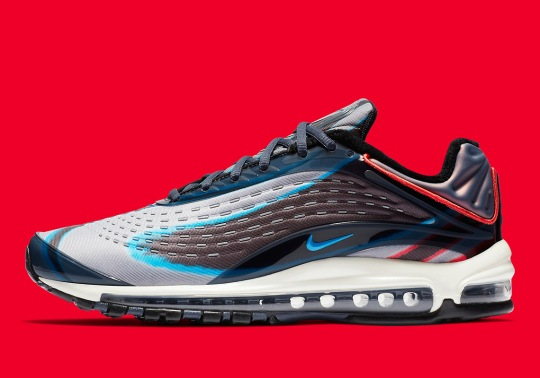 The Nike Air Max Deluxe Is Releasing In Navy And Red