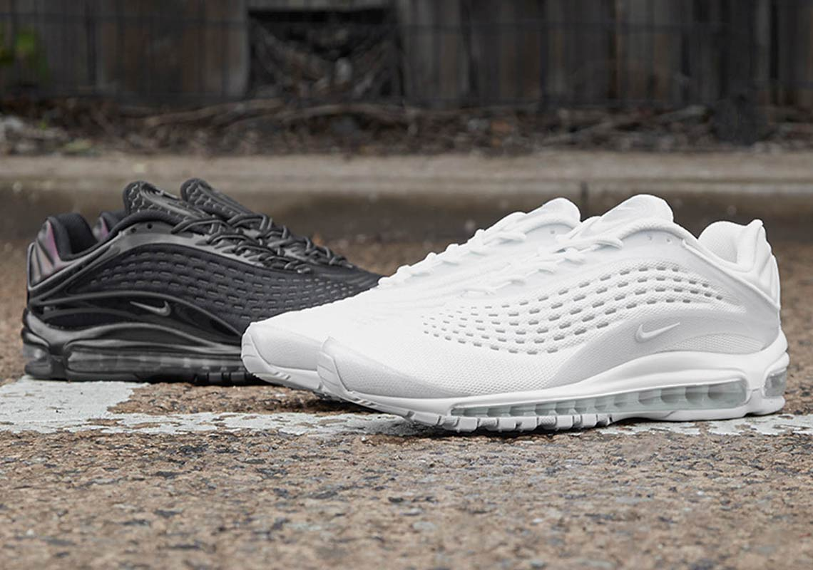 "competitive price 4df55 c1c83 Where To Buy The Nike Air Max Deluxe ""Black And White"""