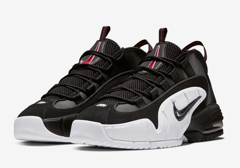 003 685153 Zwart Penny Air Nike Rood 1 Wit Max I8xw70