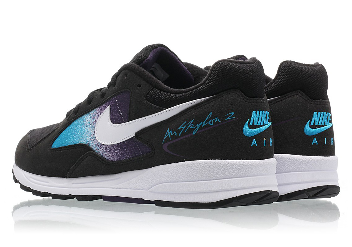 brand new faf57 5bd2f Nike Air Skylon II 130 CHF Color  Black White-Blue Lagoon-Grand Purple  Style Code  AO1551-001. Advertisement. Advertisement
