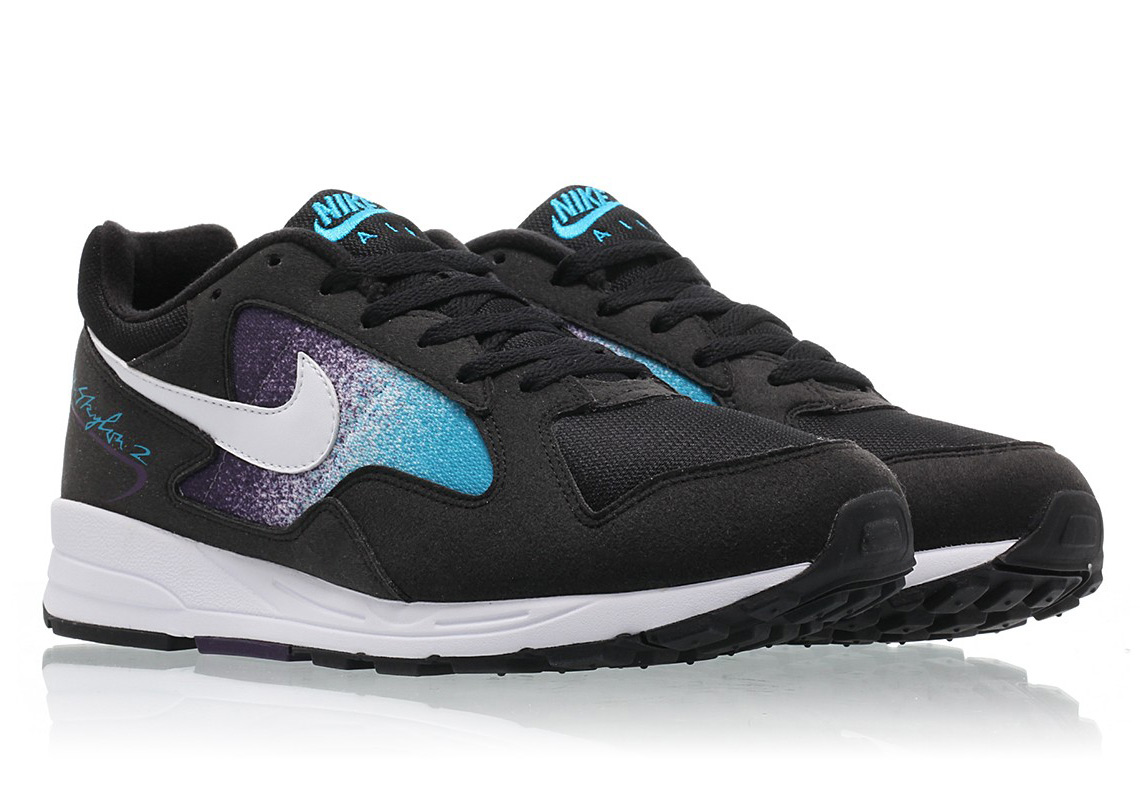 online store 3730d 4b9c3 Nike Remixes An OG Air Skylon II Colorway With Black