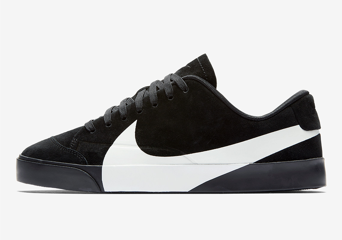 99be93d5bf43 The Nike Blazer City Low XS In Black Is Available Now