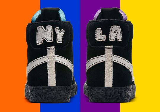 The Nike Blazer Mid Joins In On The NYC vs. LA Competition