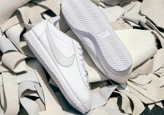 Nike's Sustainable Flyleather Arrives On The Cortez