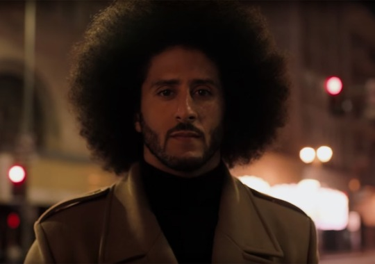 "Nike Follows Colin Kaepernick Just Do It Ad With ""Dream Crazy"""