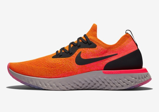 "Nike Epic React ""Copper Flash"" Drops This Month"