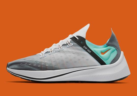 The Nike EXP-X14 Features Wave Graphics