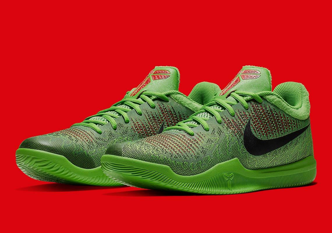 Nike Mamba Rage Grinch 908974-300 | SneakerNews.com