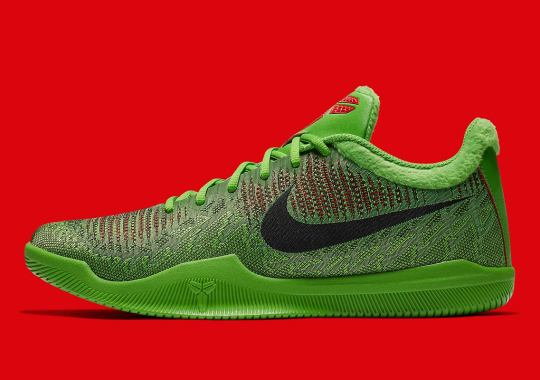 "Nike Is Releasing Another Kobe ""Grinch"" Shoe"