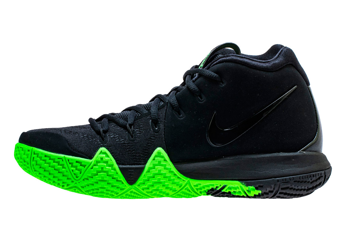 "The Nike Kyrie 4 ""Halloween"" Features A Swoosh Dipped In Slime f86bbc6be0f3"