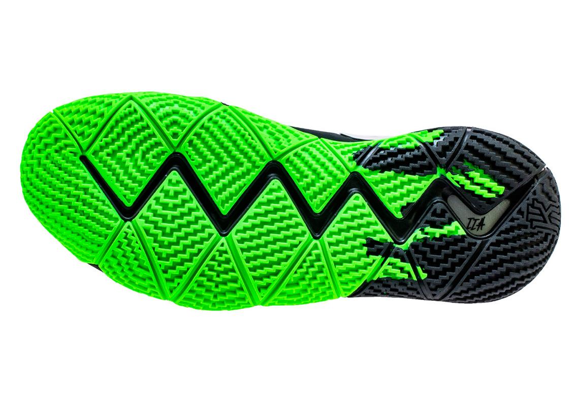 f402fc47d18 Nike Kyrie 4 Halloween Black Green 943806-012