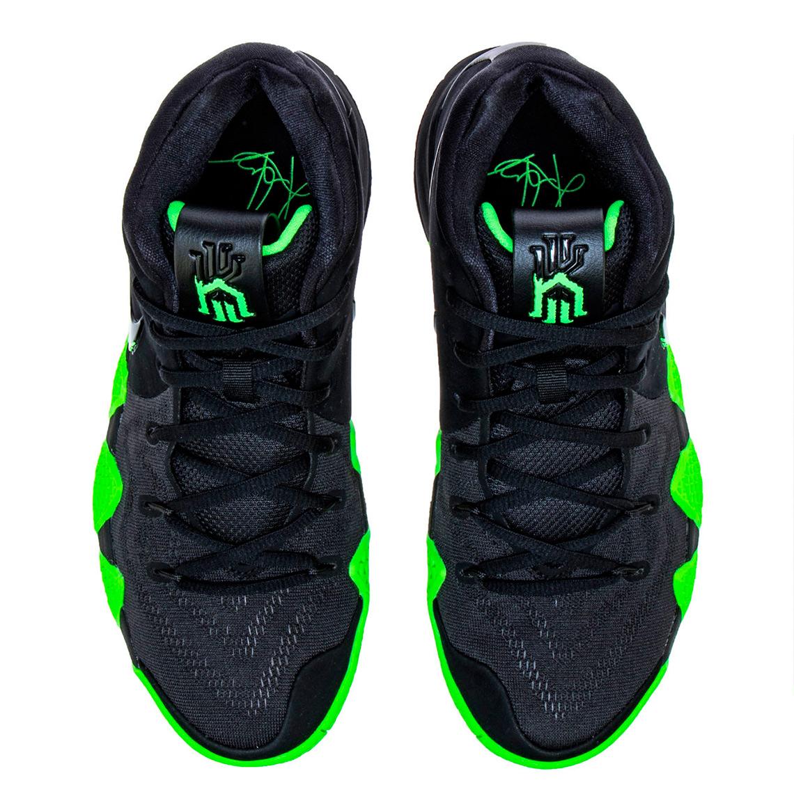 Nike Kyrie 4 Halloween Black Green 943806-012  f69f1d71a