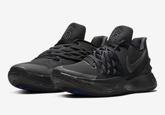 "Nike Kyrie Low ""Triple Black"" Is Coming Soon"