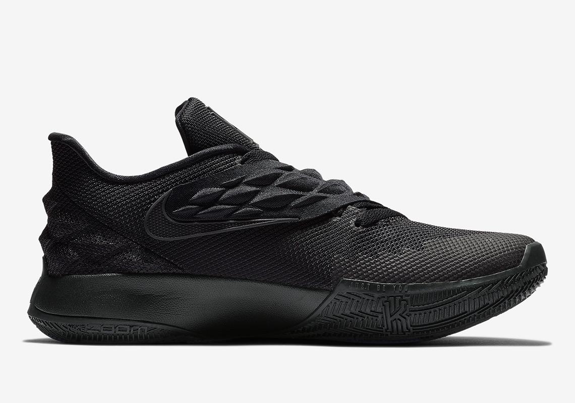 promo code 2f155 82881 Nike Kyrie Low 1 Triple Black AO8979-004 Release Info ...