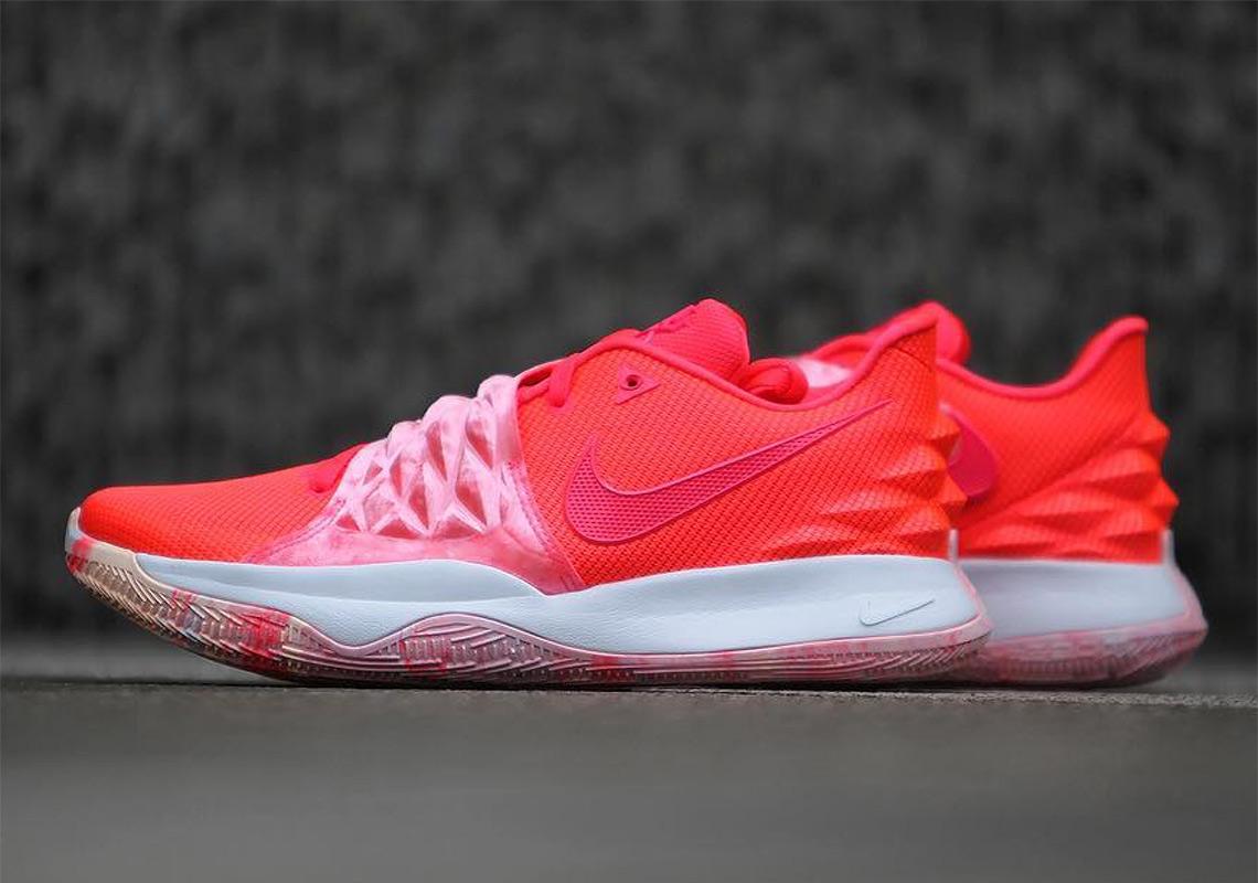 official photos eb6c6 c5359 Nike Kyrie Low Crimson White AO8979-600 | SneakerNews.com