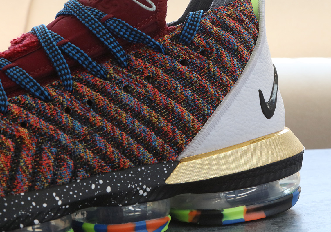"nike lebron 16 1 to 5 what the photos 1 - Where To Buy What The LeBron 16 ""1 Thru 5"""