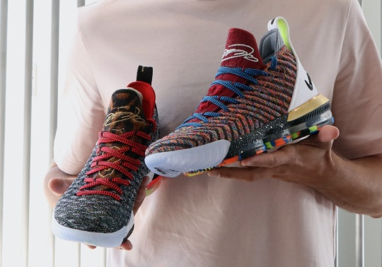 """The Nike LeBron 16 """"1 Thru 5"""" Combines The First Five Colorways"""