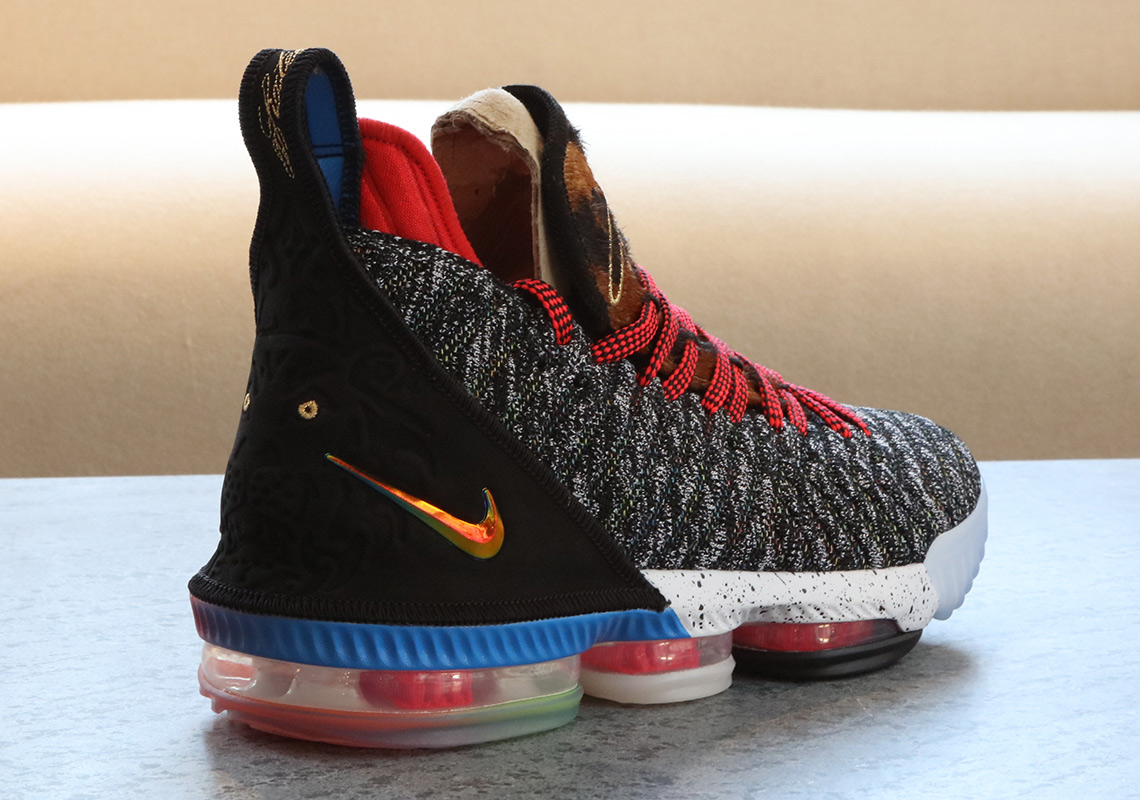 "nike lebron 16 1 to 5 what the photos 4 - Where To Buy What The LeBron 16 ""1 Thru 5"""