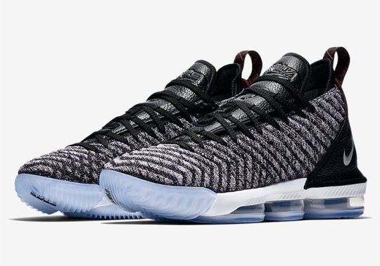 "Official Images Of The Nike LeBron 16 ""Oreo"""