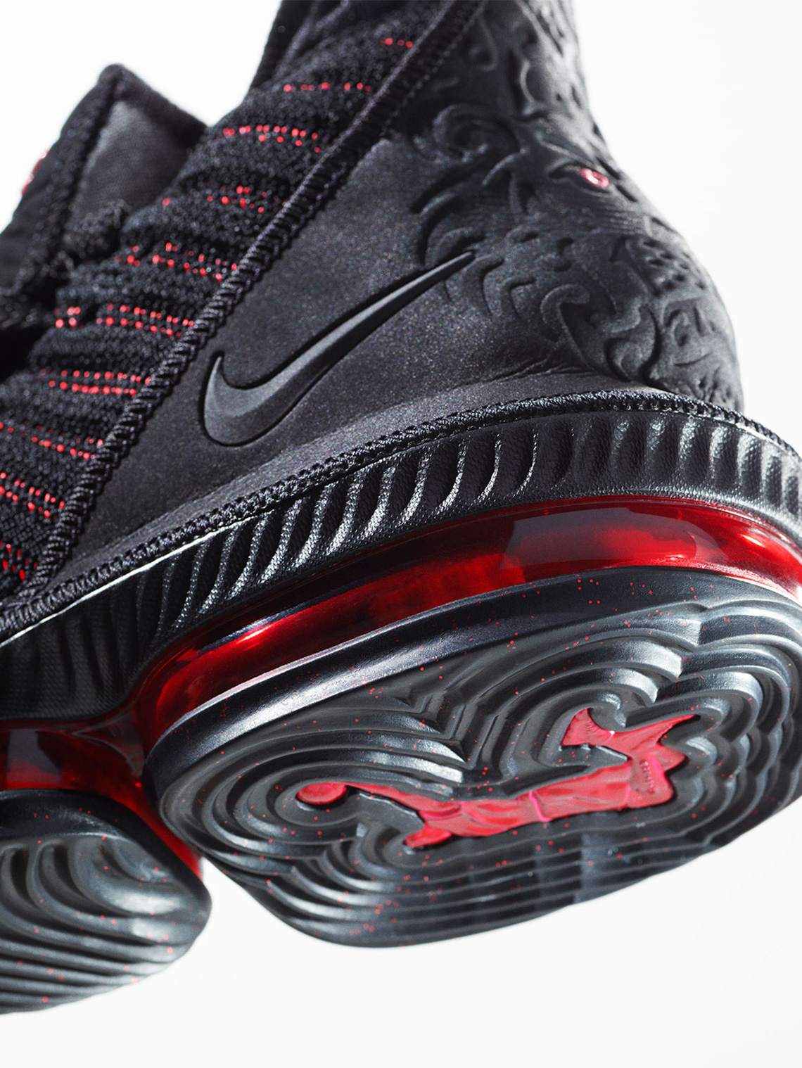 new arrival 2a44d 2917f Nike LeBron 16 Fresh Bred Black Red Release Date ...