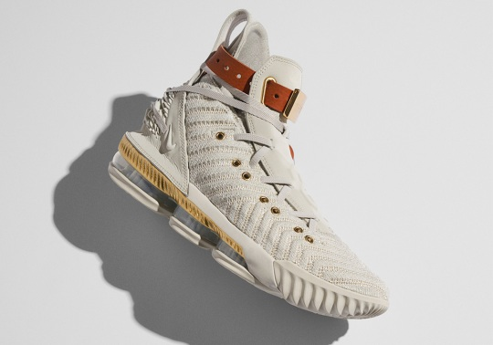 """Nike Announces Release Date For LeBron 16 """"Harlem's Fashion Row"""""""