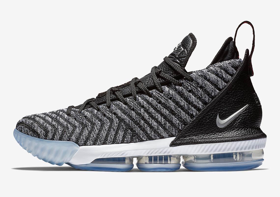 02b14ab50419f Nike LeBron 16 Oreo AO2588-006 Photos + Release Info